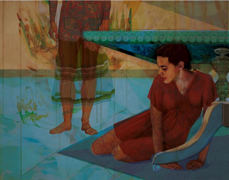 Nima Hashemian: Paintings