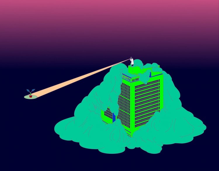 Teng-Yuan Chang: Earth research by Parrot Man