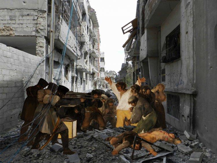 Tammam Azzam: Syrian museum