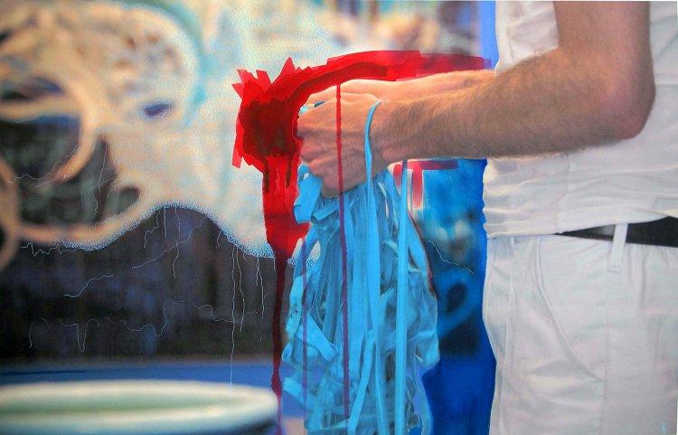 Liza Grobler: White Termite Installation