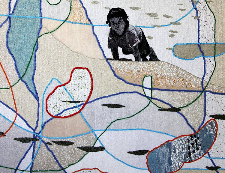 Liza Grobler: Beaded panels