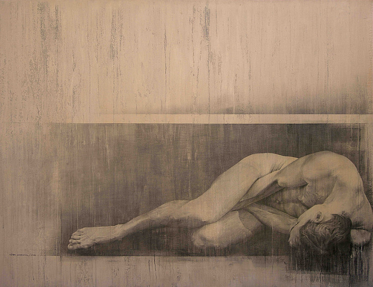 Fernando Gómez Balbontín: Naked human