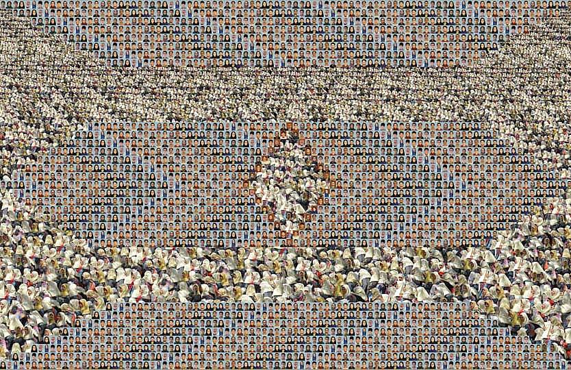 Sadegh Tirafkan | Human Tapestry