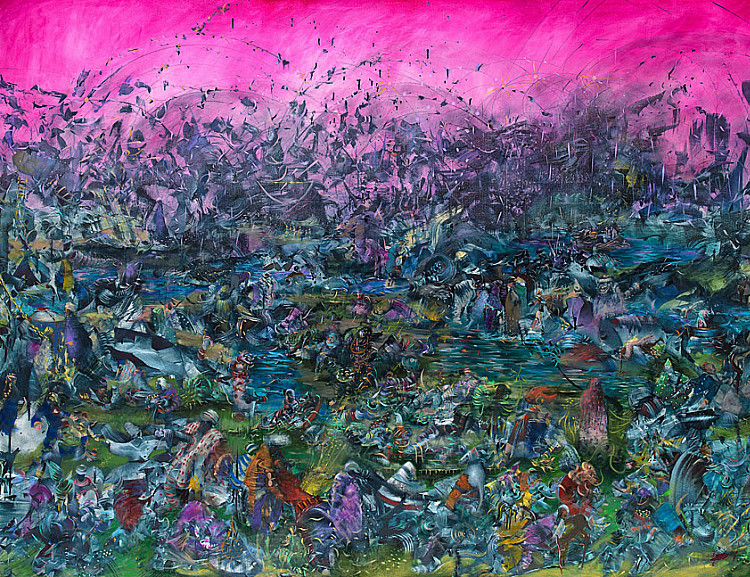 Ali Banisadr: We Haven't Landed on Earth yet and Other Paintings