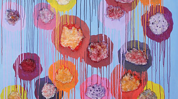 Mansour Rafiei: Painting with a Sewing Machine